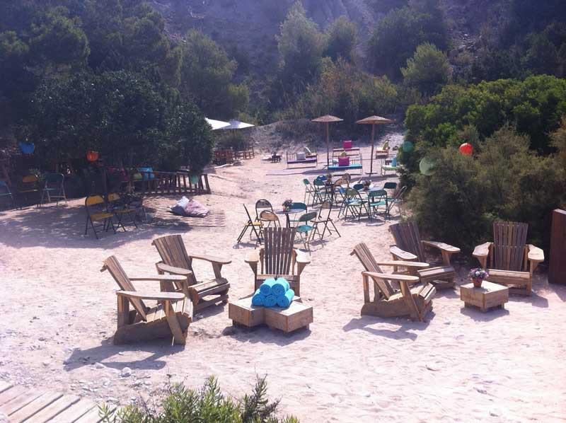 Private en quiet beach Ses Boques