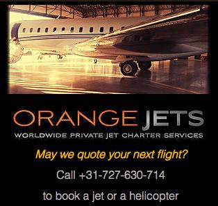 Orange jets