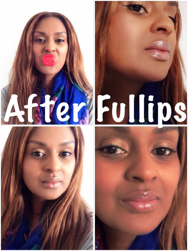 It's amazing how huge my lips are after using Fullips