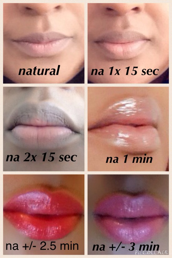 van natural tot Fullips